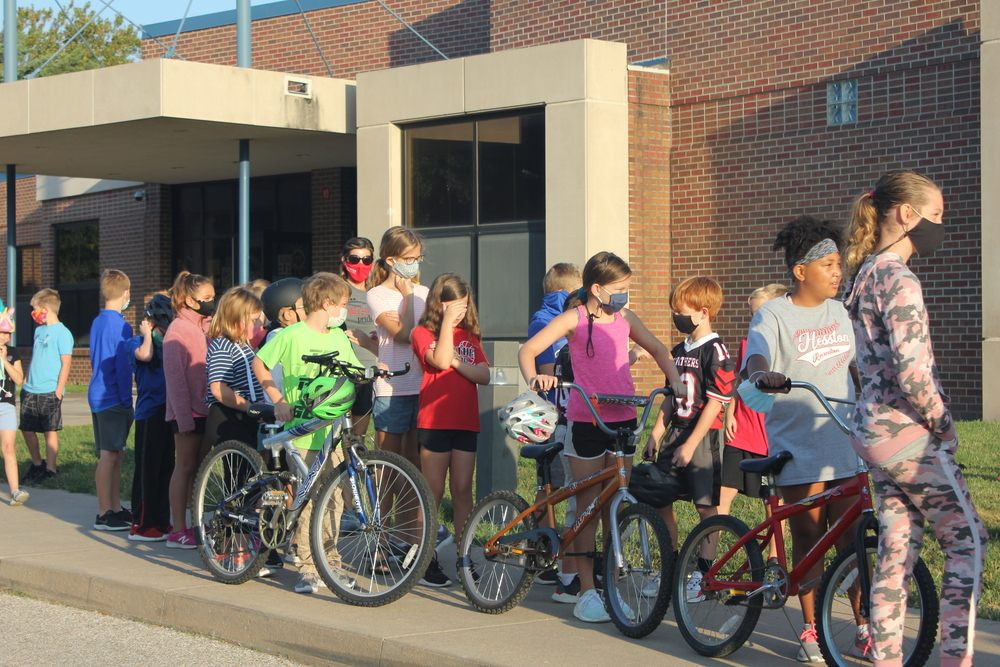 Fourth Grade Bike Tour