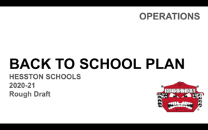Calendar and Back to School Plan